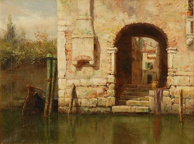 BURR H. NICHOLLS - VENICE DOORWAY