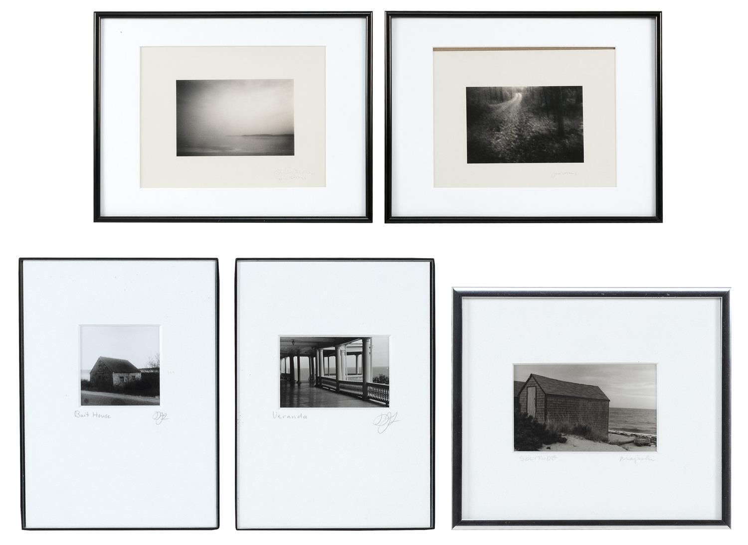 """JANE BOOTH VOLLERS, United States, Contemporary, Two silver gelatin prints depicting Cape Cod, Massachusetts,, 4"""" x 6"""" and approx. 3..."""