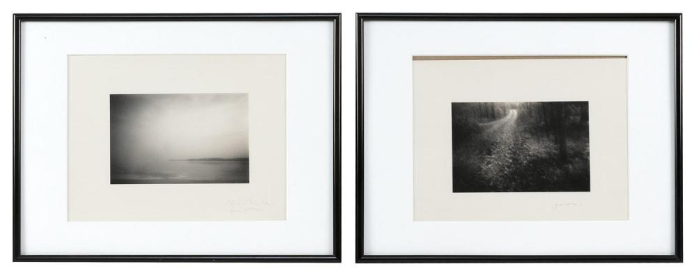 JANE BOOTH VOLLERS, United States, Contemporary, Two silver gelatin prints depicting Cape Cod, Massachusetts,, 4