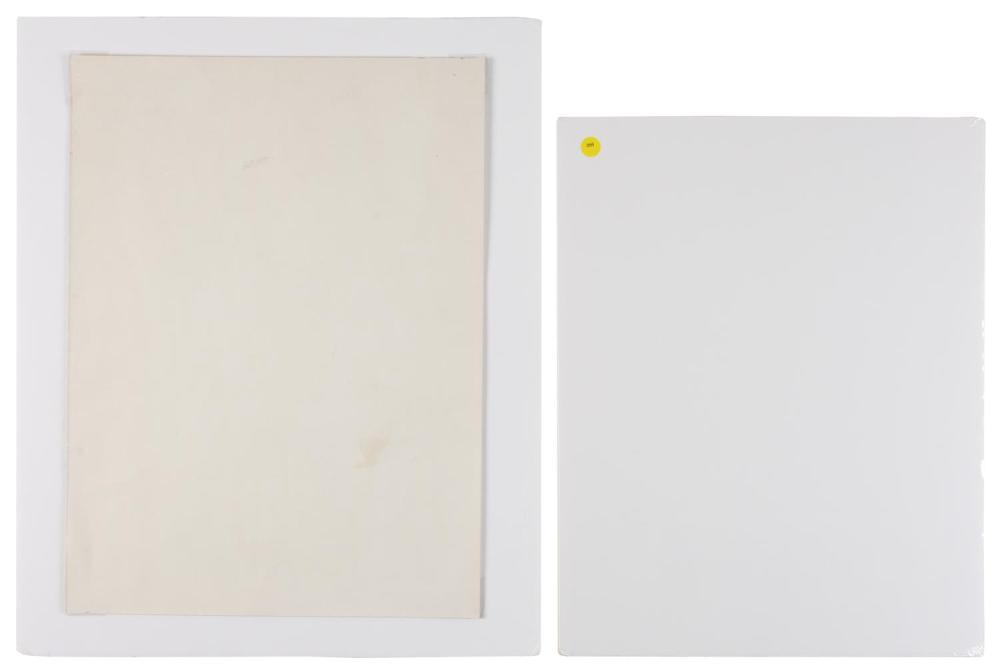 TWO LITHOGRAPHS 1)