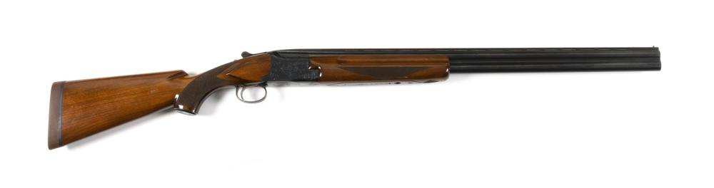 * WINCHESTER MODEL 101 OVER-UNDER SHOTGUN 12-ga., Serial #132106. Choked at skeet and improved cylinder. Vent ribbed barrels. Minor...