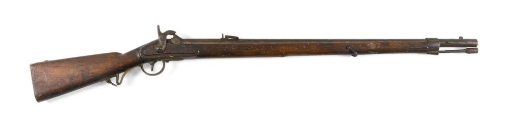 """AUSTRIAN LORENZ PERCUSSION RIFLE 13.9mm. Length of barrel 33"""". Overall length 48.5""""."""