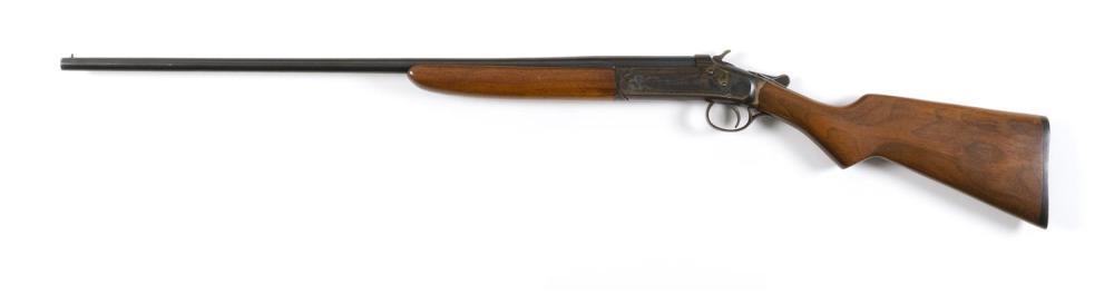 * IVER JOHNSON CHAMPION MODEL SHOTGUN .410-ga., Serial #GBRB. Length of pull 14