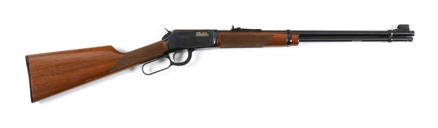"""* WINCHESTER MODEL 9422 XTR LEVER ACTION RIFLE .22 cal., Serial #438640. Blued finish. Very good condition. Length of barrel 30"""". Ov..."""