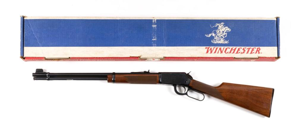 * WINCHESTER MODEL 9422 XTR LEVER ACTION RIFLE .22 cal., Serial #438640. Blued finish. Very good condition. Length of barrel 30