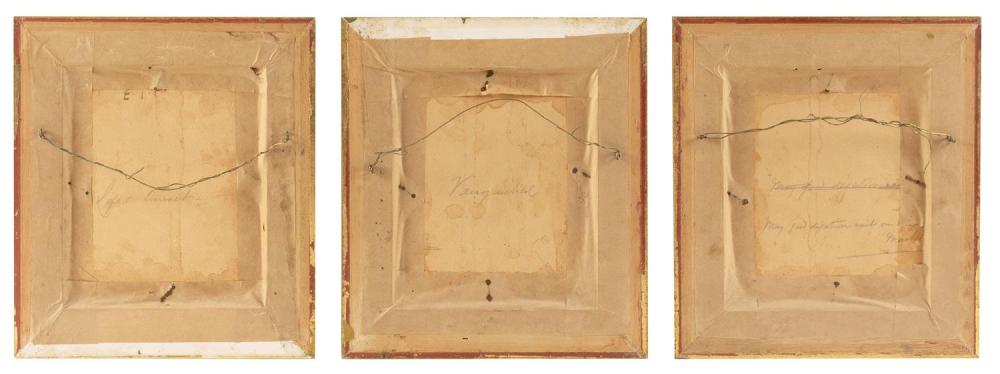 A. ROLAND KNIGHT, United Kingdom, 1879-1921, Three fishing scenes., Oils on board, 7