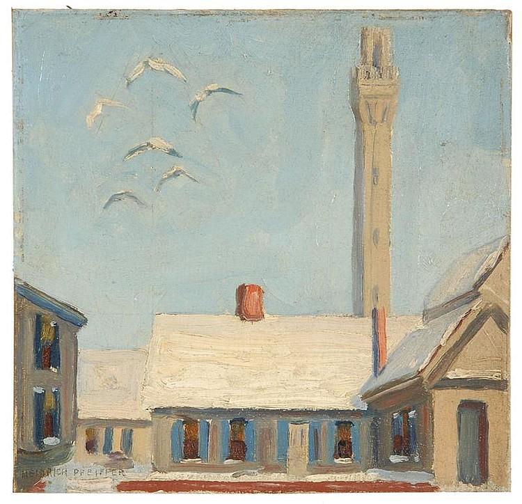 HEINRICH HERMAN PFEIFFER, American, 1874-1960,