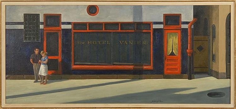 CLYDE SINGER, American, 1908-1998,