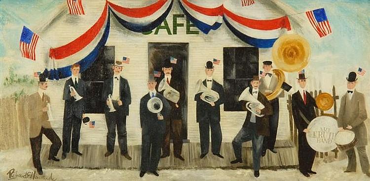 RICHARD E. HOWARD American 1912-1996 The Art