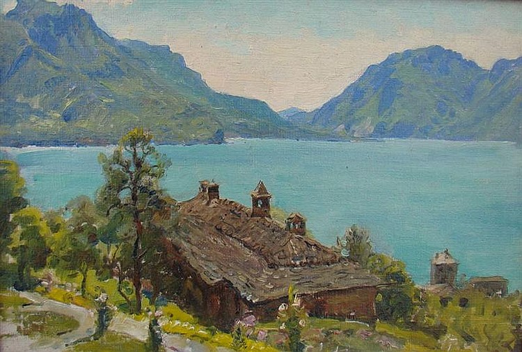 ANNA MARY RICHARDS BREWSTER - LAKE COMO