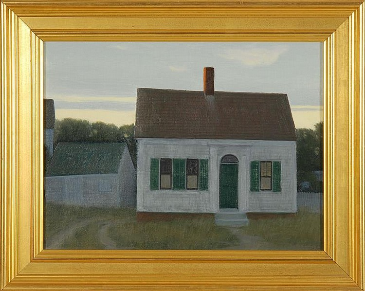 JOHN DOWD, Cape Cod, Contemporary,