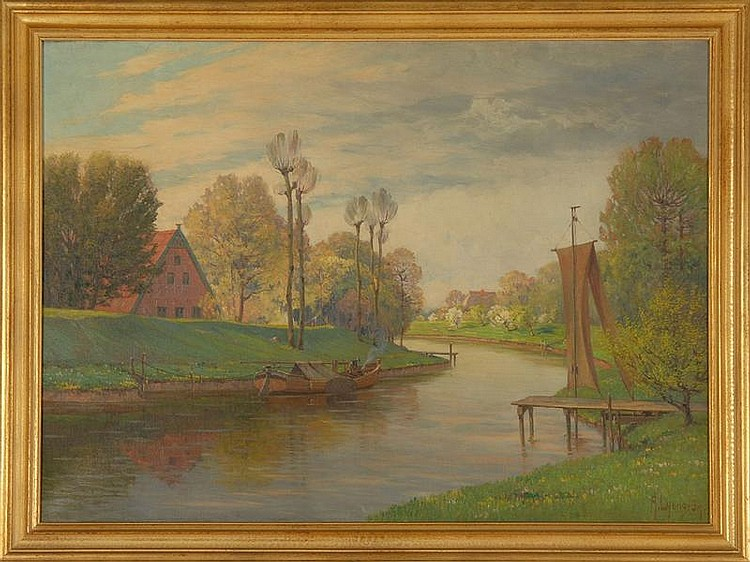 ARNOLD ERNST LYONGRUN, Russian-German, 1871-1935,