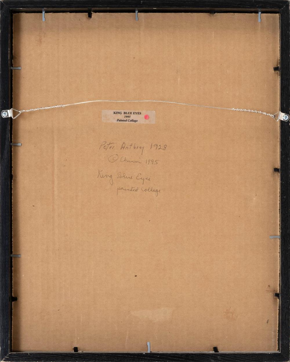 PETER ANTHONY CHINNI, New York, b. 1928,