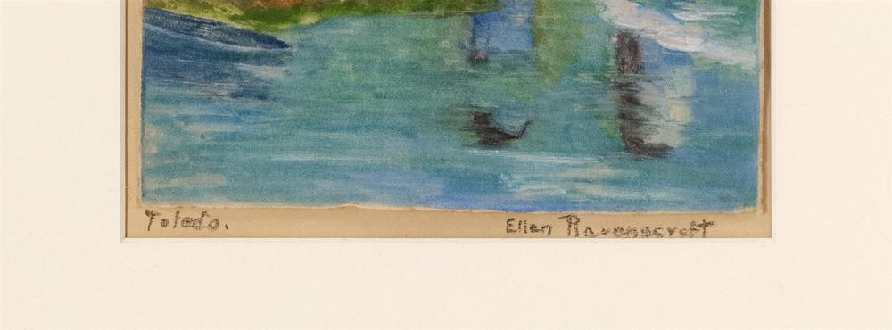 ELLEN RAVENSCROFT, New York/Mississippi, 1876-1949,