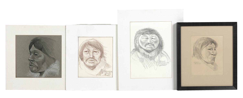 JAMES ARCHIBALD HOUSTON, Connecticut/Canada, 1921-2005, Four works: