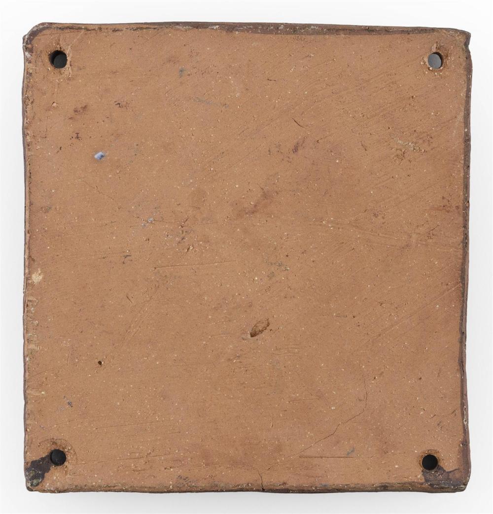 AL DAVIS, Massachusetts, Contemporary, Pedestrian,, Ceramic plaque, 6.5