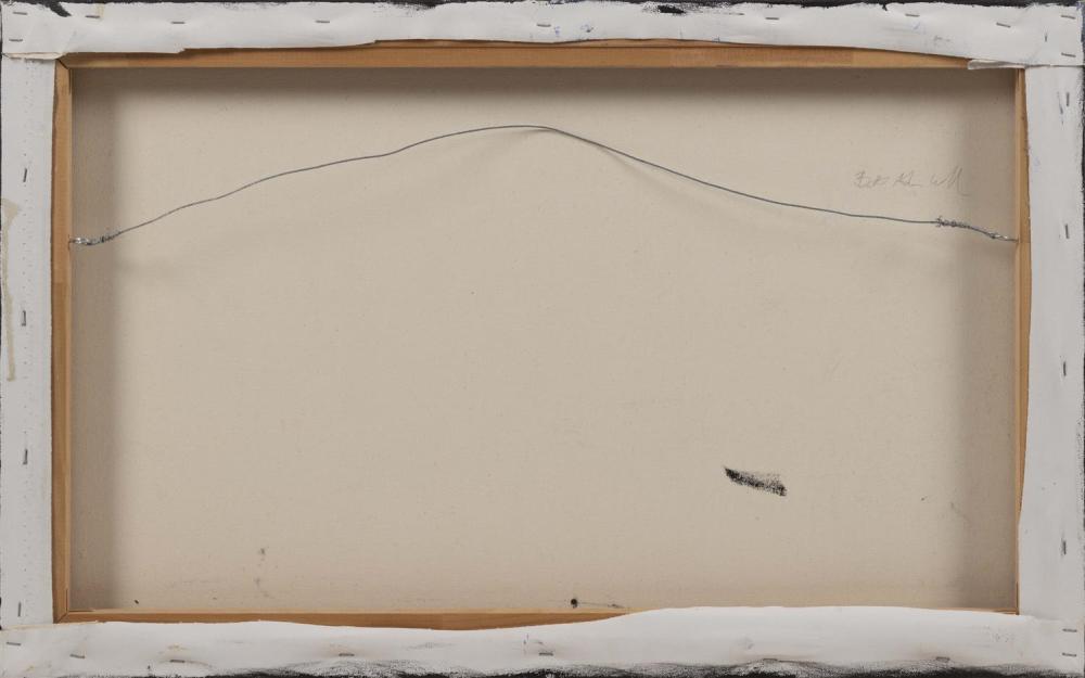 B. WALLACE, Cape Cod, Contemporary, Beach cotttages, Truro, Massachusetts., Oil on canvas, 20
