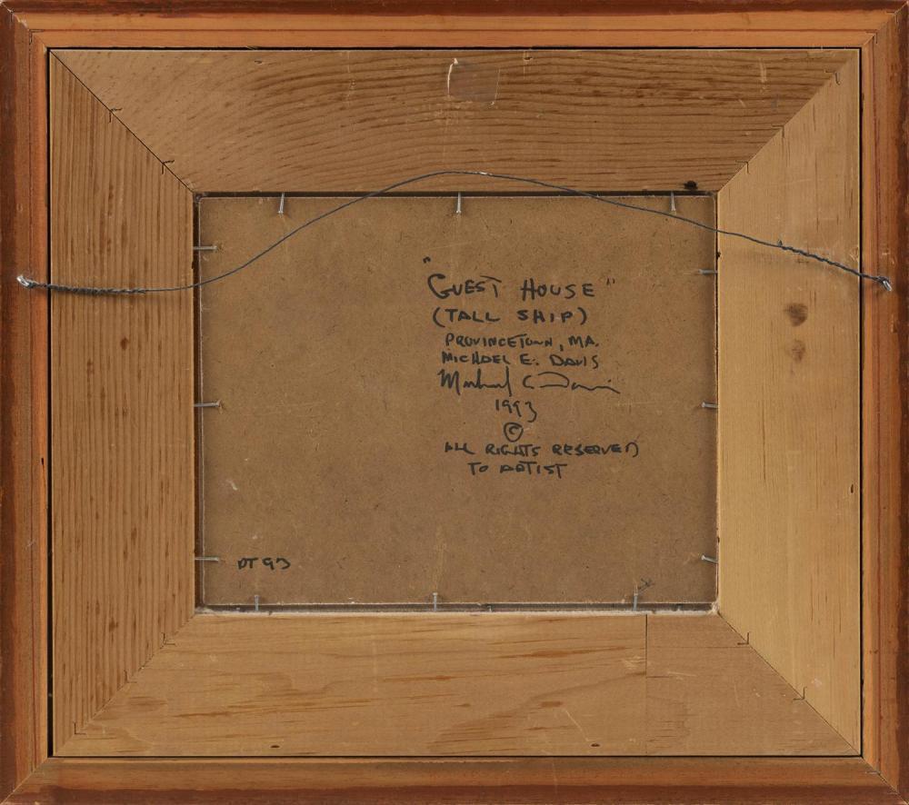 MICHAEL DAVIS, Massachusetts, b. 1945,