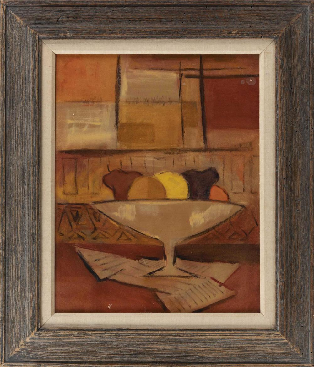 "HOUSE OF HEYDENRYK WOOD FRAME Natural driftwood finish. Label verso. Apeture 22.5"" x 18"". Contains a still life serigraph."