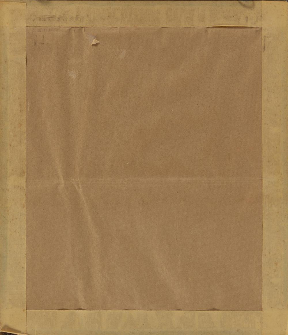 ENGLISH NEEDLEWORK SAMPLER Dated 1856. Sailboat and peafowl design. Framed 19.5