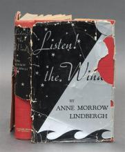 (MEMOIR) Lindbergh, Anne Morrow, Listen! the Wind. N.Y.: Harcourt, Brace and Company, 1938. First edition. Foreward by Charles Lindb...