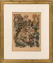 LOVIS CORINTH, German, 1858-1925,