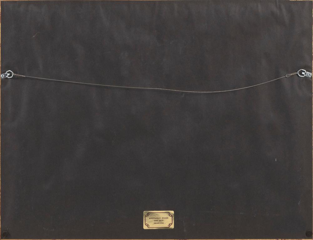 RUTH D. HOGAN (Massachusetts/New Mexico, b. 1943), Orleans Bicentennial (1797-1997)., Lithograph, 18
