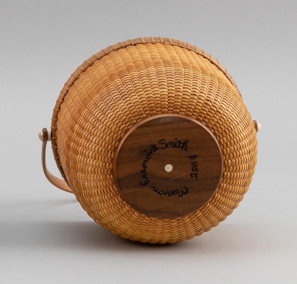 NANTUCKET BASKET BY MARION FREMONT-SMITH Massachusetts, Contemporary Height 5