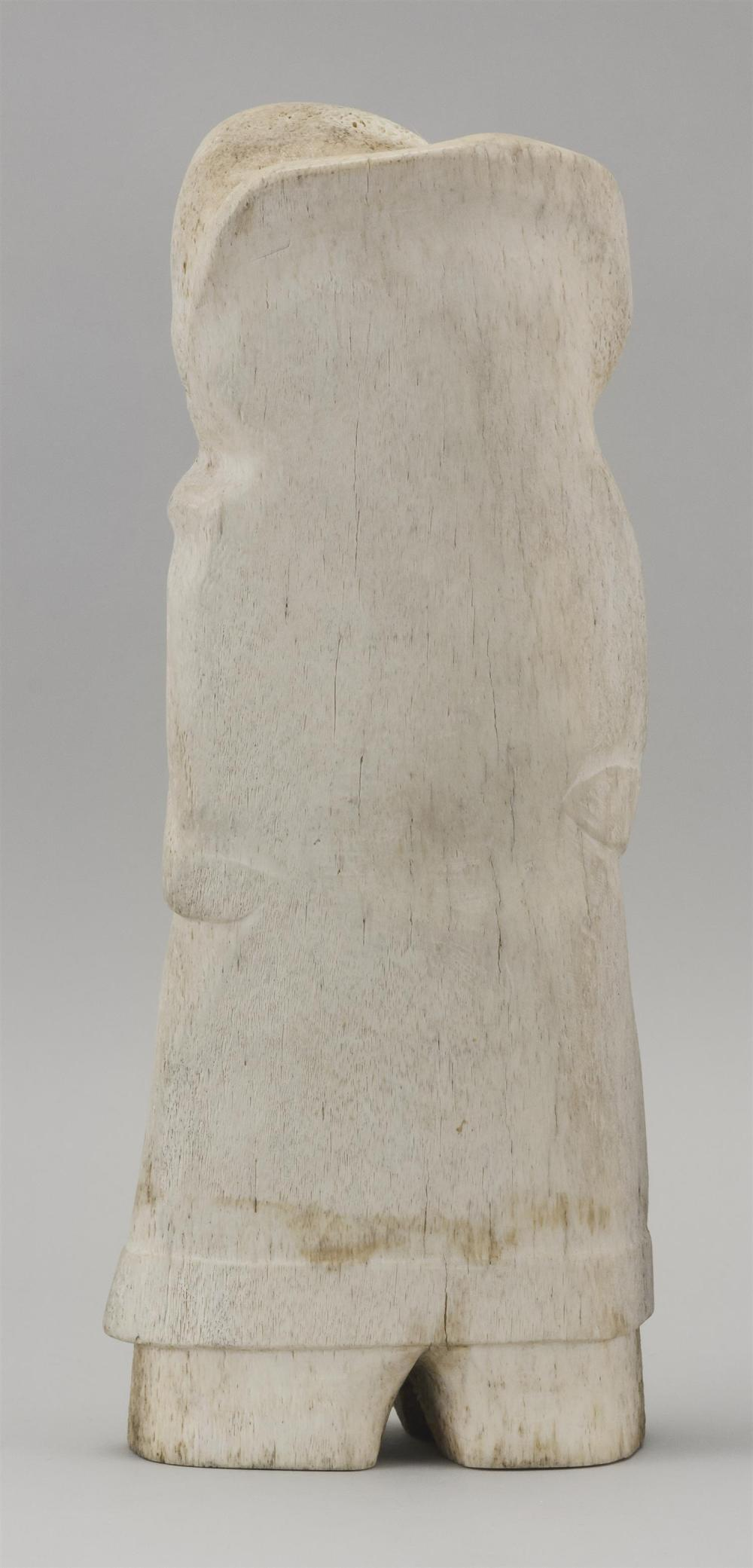 CAPE DORSET WHALEBONE CARVING