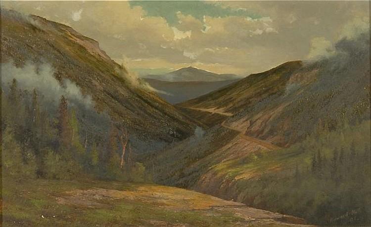 EDWARD HILL, American, 1843-1923,