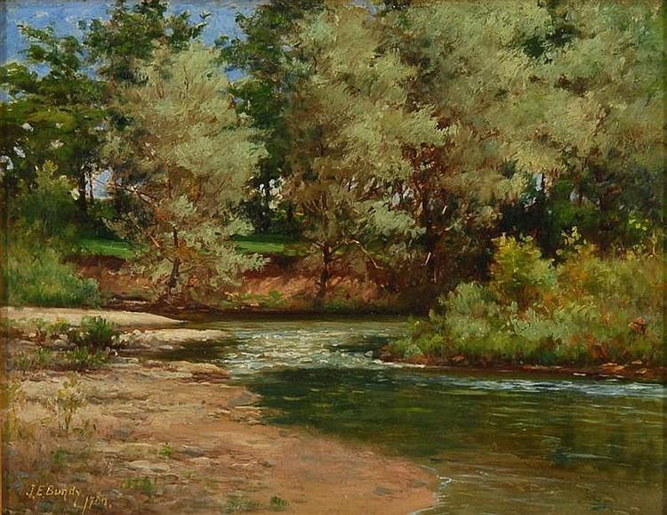 JOHN ELWOOD BUNDY, American, 1853-1933,