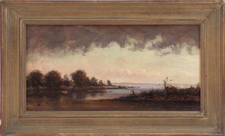 PETER LAYNE ARGUIMBAU, Connecticut, b. 1951,