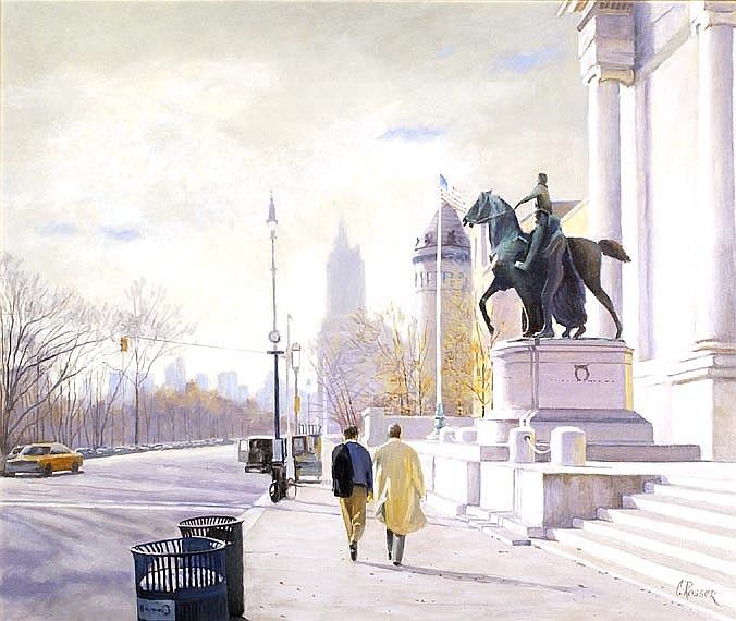 CURTIS ROSSER American, 1927-2005