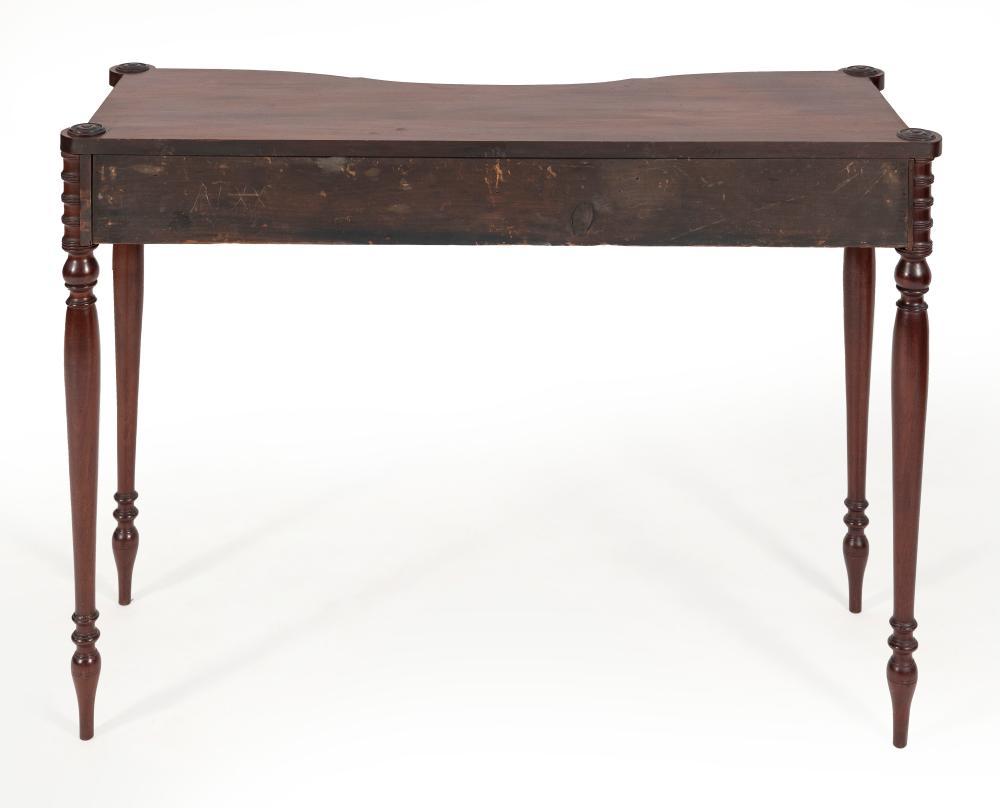 SHERATON CONSOLE TABLE New York, Circa 1810 Height 31.75