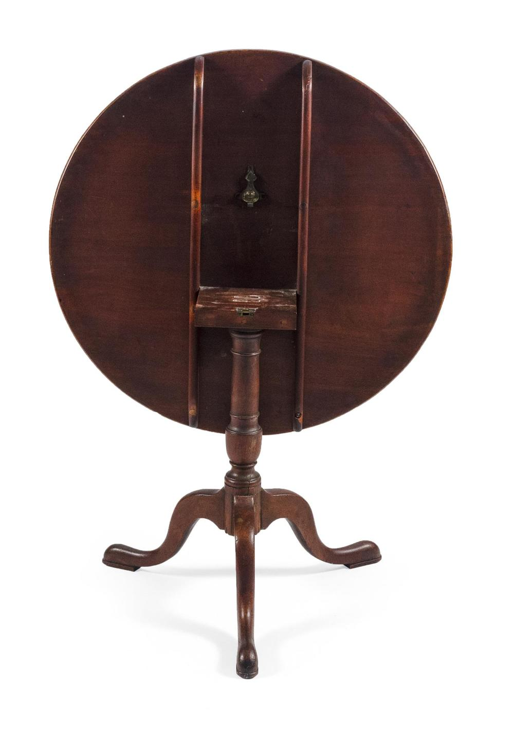 QUEEN ANNE TILT-TOP TABLE Late 18th Century Height 28