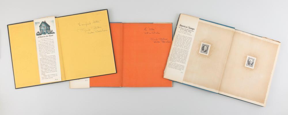 THREE AUTHOR-SIGNED CHILDREN'S BOOKS BY MAUD AND MISKA PETERSHAM America, Mid-20th Century