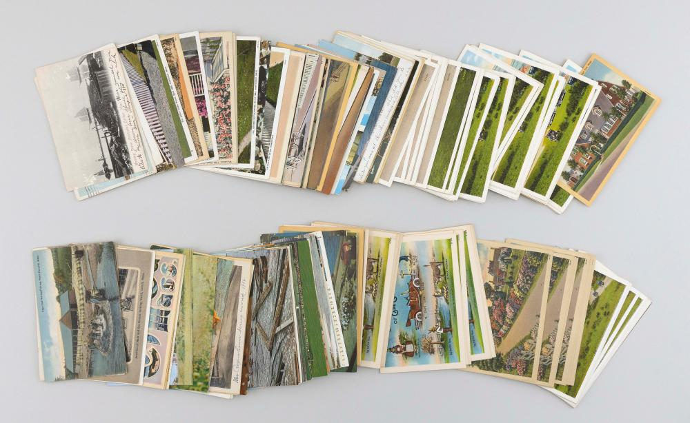 (VIEW) CAPE COD & ISLANDS: 203 POSTCARDS Mid-20th Century