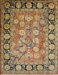 ORIENTAL RUG: PERSIAN DESIGN 8'11