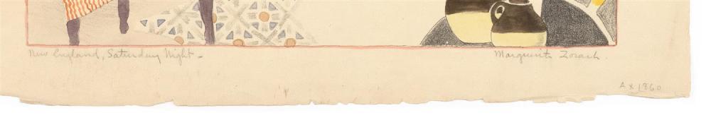 MARGUERITE THOMPSON ZORACH, New York/Maine/California, 1887-1968,