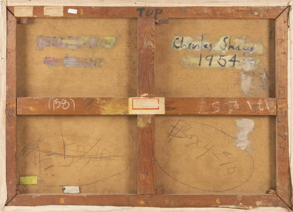 CHARLES GREEN SHAW, New York, 1892-1974,