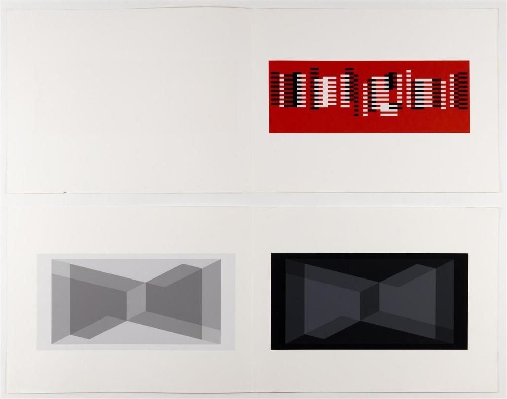 JOSEF ALBERS, Germany/Connecticut/North Carolina, 1888-1976,