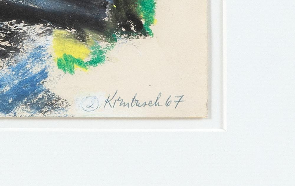 WILLIAM KIENBUSCH, New York, 1914-1980,