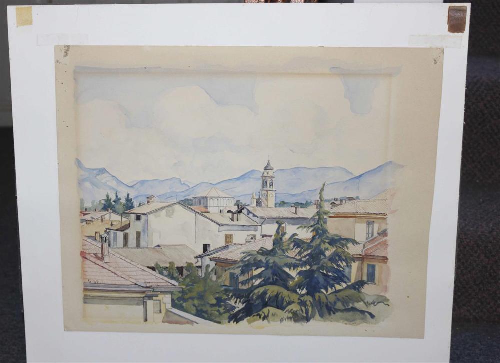 LUIGI LUCIONI, New Jersey/New York/Vermont/Italy, 1900-1988,