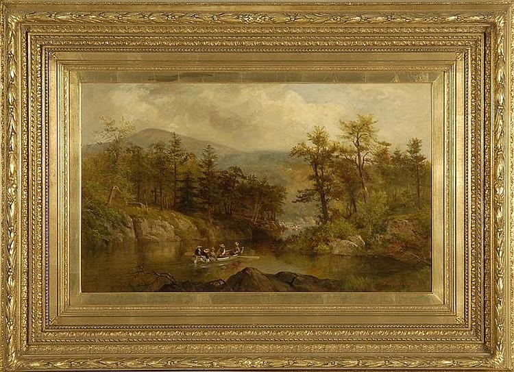 JAMES BRADE SWORD, American, 1839-1915,