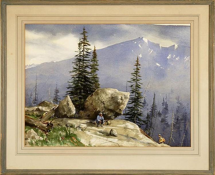 WAYNE LAMBERT DAVIS, American, 1904-1988,