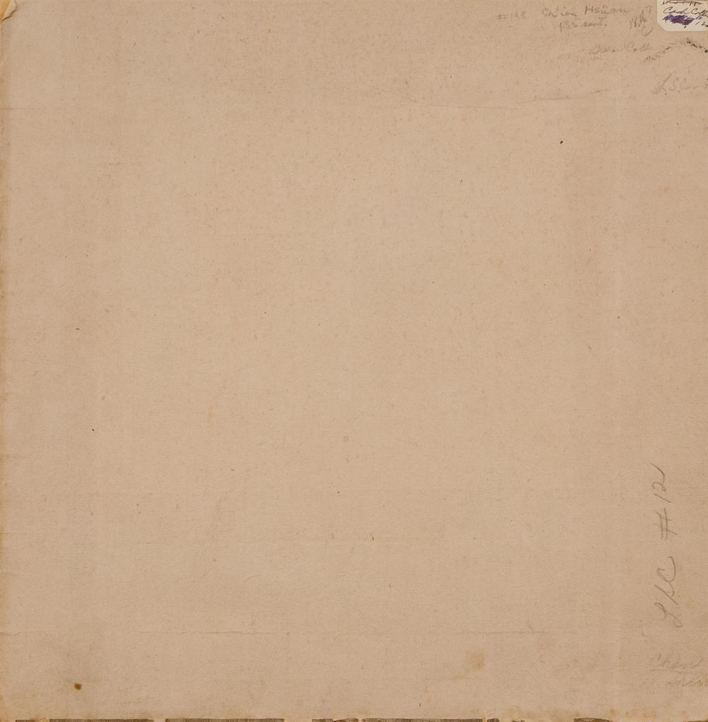 Lot 1073: CHINESE ALBUM PAINTING ON SILK Attributed to Chien Houan. Depicting a sage observing wind blowing tree branches. Marked with four se...