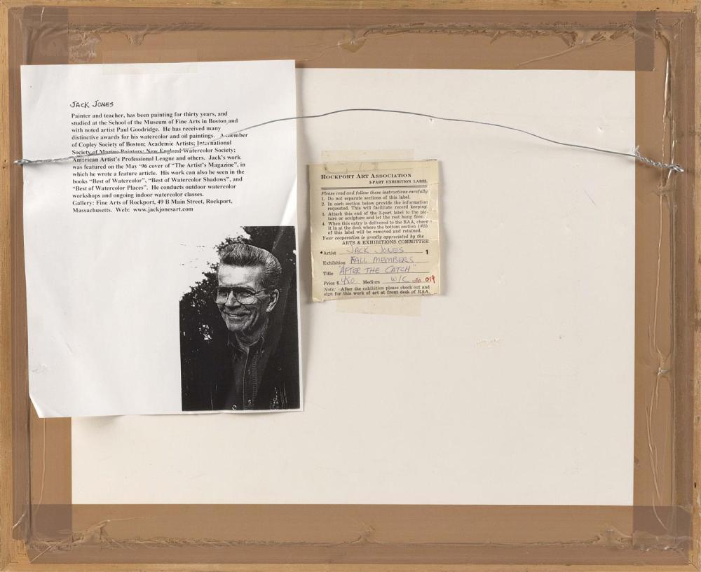 JACK JONES, Massachusetts, 1940-2011,