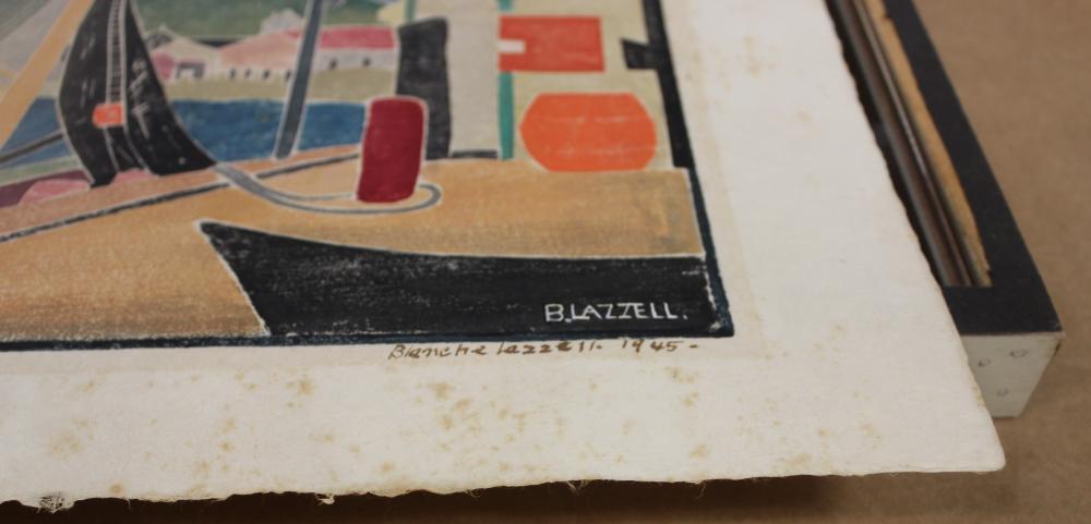 BLANCHE (NETTIE) LAZZELL (Massachusetts/West Virginia, 1878-1956),