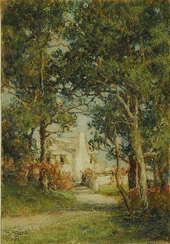 PROSPER LOUIS SENAT, American, 1852-1925,