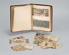 COLLECTION OF U.S. PAPER CURRENCY Includes: 1-5) Five Colonial: a Virginia 1778 fifty Spanish milled dollars, a 1776 Delaware ten sh...